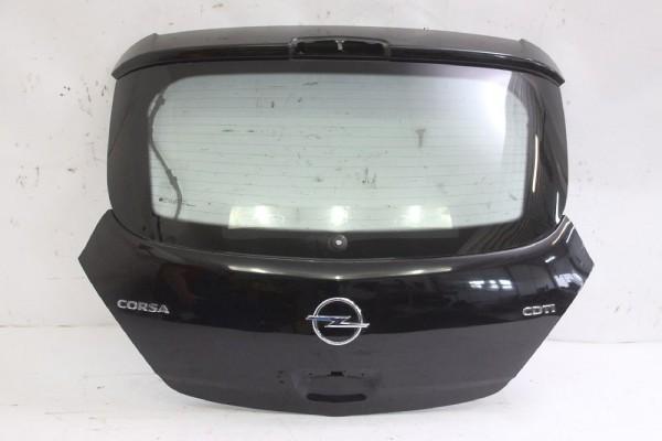 Heckklappe Opel CORSA D Schwarz 93191543 126147 13188418 162835 01-2008 gebraucht