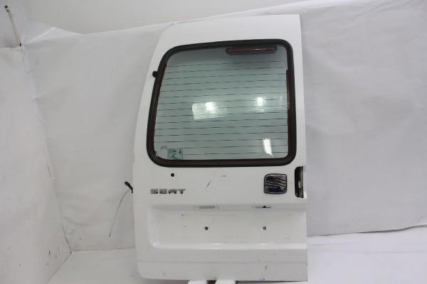 Hecktür Seat INCA links 6K9827145A 6K9845501F Weiss 09-2000 gebraucht