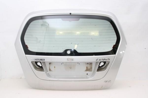 Heckklappe Suzuki LIANA Kombi ER Silber 10-2002 gebraucht