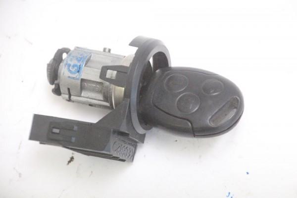 Zündschloss Ford FIESTA 5 JH 2S61A3697AA mit Schlüssel 4355452 1.3 04-2007 gebraucht