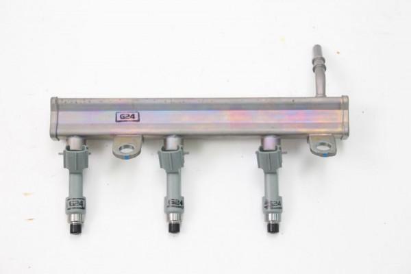 Einspritzventil Toyota AYGO 2 B4 232500Q030 DENSO 1.0 51 KW 69 PS Benzin 01-2015 gebraucht