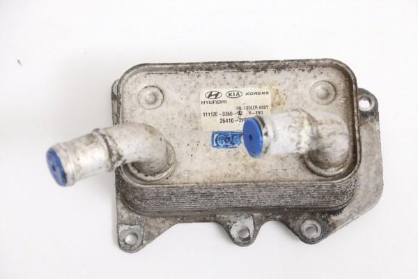 Ölkühler Hyundai iX35 264102F020 D4HA 2.0 100 KW 136 PS Diesel 02-2012 gebraucht