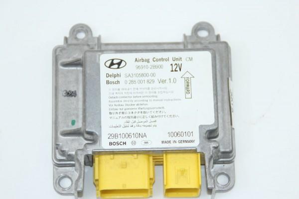 Airbagsteuergerät Hyundai SANTA FE 2 CM 0285001829 959102B900 SA310580000 2.2 gebraucht