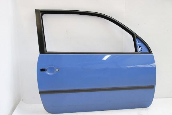 Tür VW LUPO rechts 6X3831052AJ Blau 02-1999 gebraucht