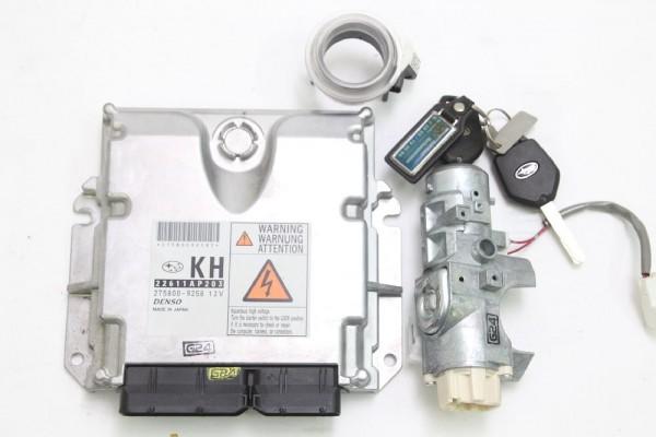 Motorsteuergerät für Subaru FORESTER 3 SH 22611AP203 DENSO 2.0 108 KW 147 PS gebraucht