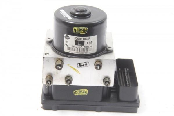 Hydraulikblock ABS für Nissan NAVARA D40 47660EB33A ATE 47660EB33C 2.5 09-2006 gebraucht