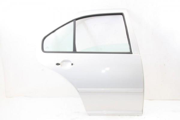 Tür VW BORA hinten rechts 1J5833056F Silber 11-1998 gebraucht