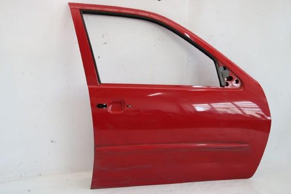 Tür VW POLO Classic vorn rechts 6K4831052C Rot 02-1997 gebraucht